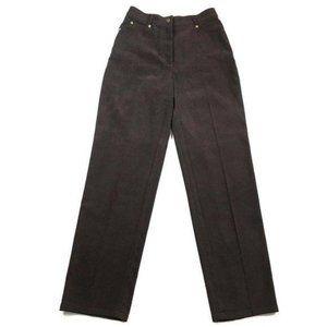 St. John Sport Velvet Five Pockets High Rise Pants